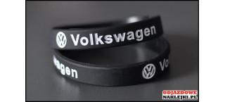 Opaska silikonowa Volkswagen czarna