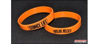 Opaska silikonowa Stance Life Breakneck Pomarańczowa