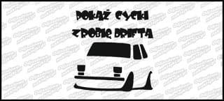 Pokaż Cycki zrobię Drifta Polski Fiat 126p 15cm