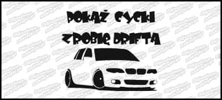 Pokaż Cycki zrobię Drifta BMW E46 Sedan 15cm