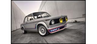 Plakat BMW 2002 Ti A2
