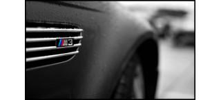 Plakat BMW M3 logo A2