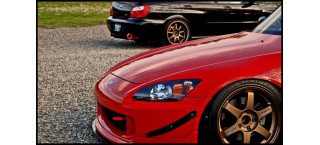 Plakat Honda & Subaru A2
