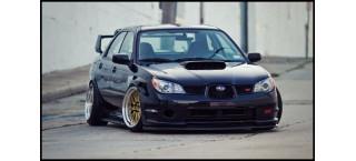 Plakat Subaru Imreza Slammed A2