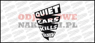 Quiet cars kills children 12cm