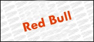 Red Bull A 10cm czerwona