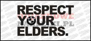 Respect Your Elders 15cm