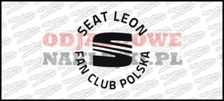 Seat Leon Fan Club Polska 12cm