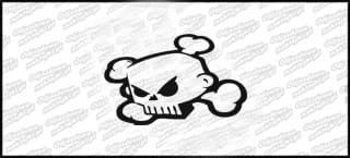 Skull 10cm Biała