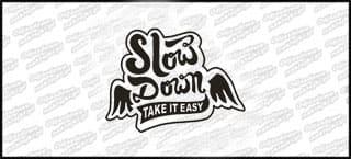 Slow Down 15cm czarna
