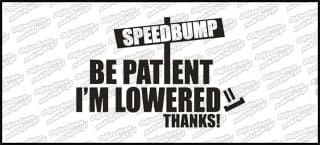 Speedbumpers B 15cm biała