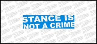 Stance Is not a crime 15cm Niebieska
