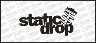 Static drop 15cm biała