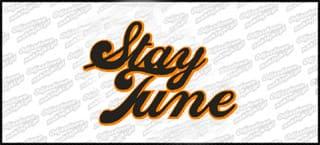 Stay Tune 15cm pomarańczowo czarna