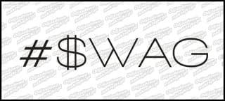 #SWAG 15cm biała