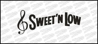Sweet and low 15cm czarna
