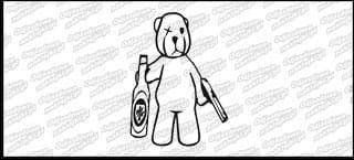 Teddy 10cm biała