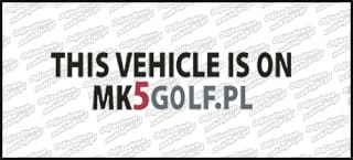 this vehicle is on mk5golf.pl czarna 15cm