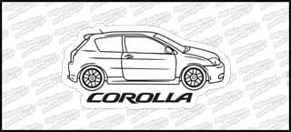 Toyota Corolla A 12cm color