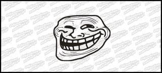 MEM Trollface 10cm
