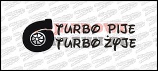 Turbo pije Turbo żyje 15cm