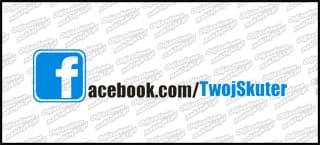 Twój Skuter facebook czarna 15cm