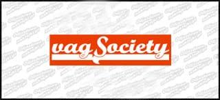 Vag Society.pl NEW 15cm czerwono biała