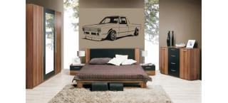 Volkswagen Caddy 100cm czarny mat