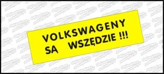 VW są wszędzie 15cm kolor