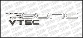 Vtec SOHC Programmed Fuel Injection 54cm srebrna