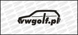 VWGolf.pl mk3 Logo 15cm