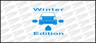 Winter Edition VW Golf Mk3 15cm
