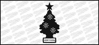 Winter Is Coming tree 15cm